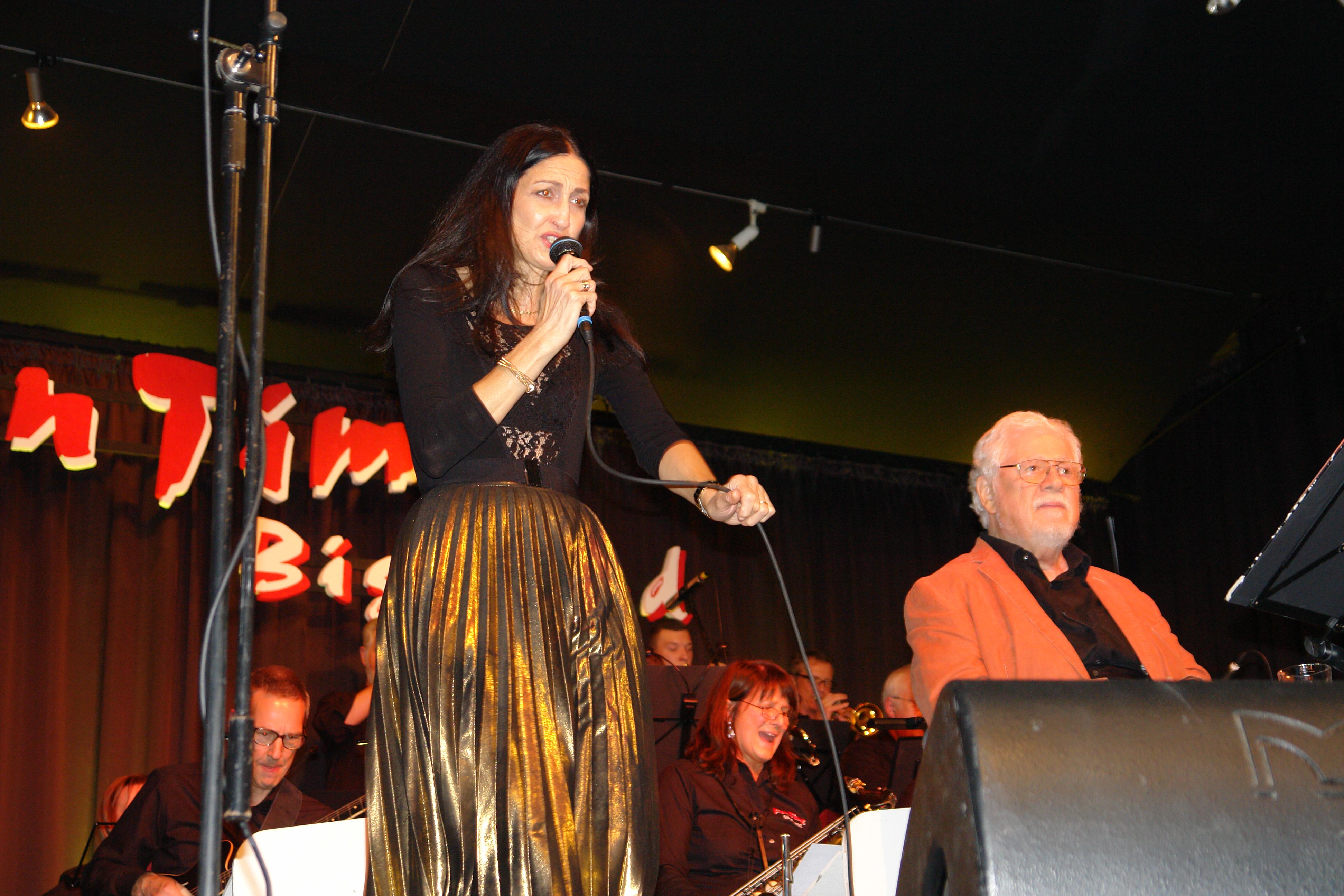 Bill Ramsey mit Hilda Lateo