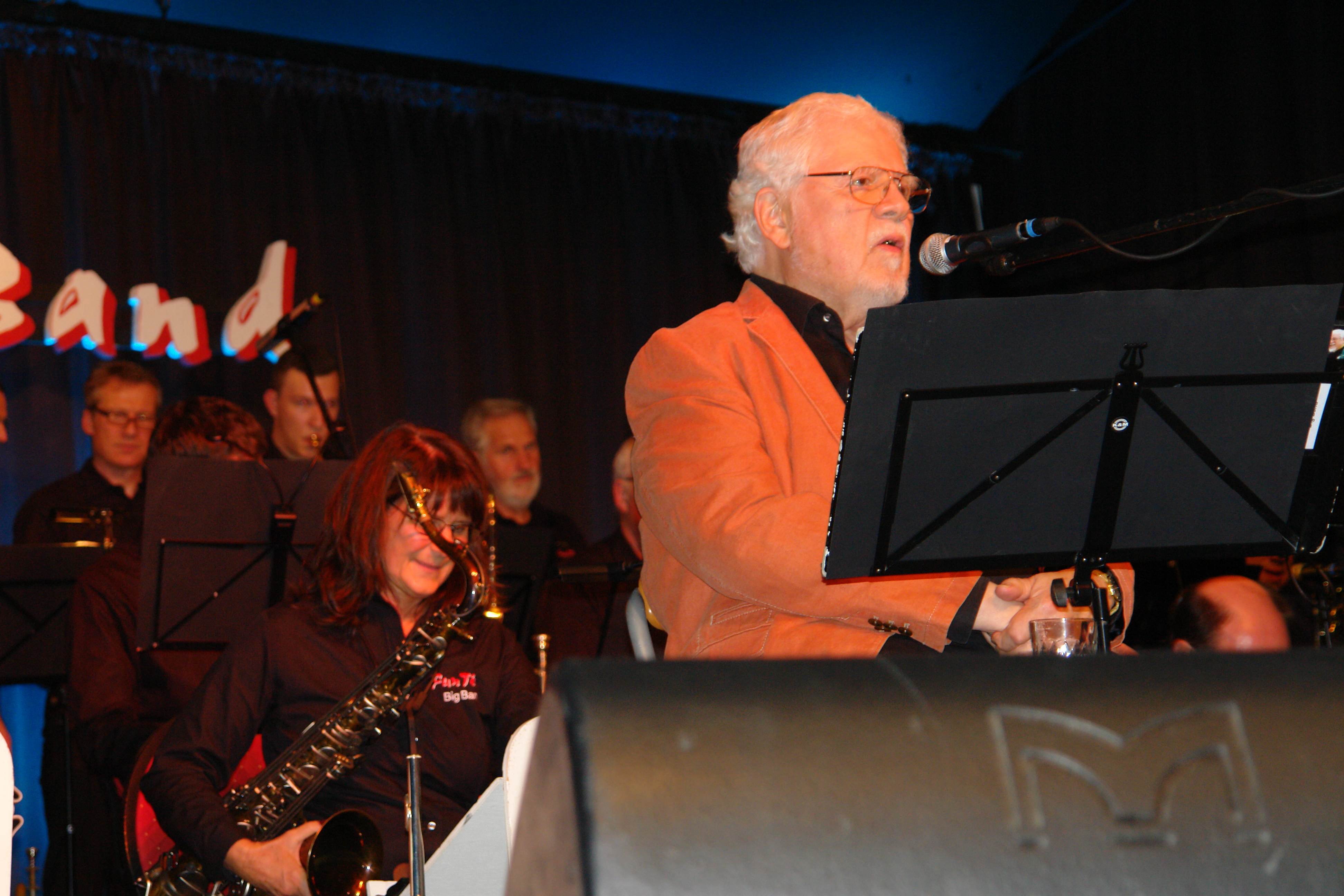 Bill Ramsey vor Band