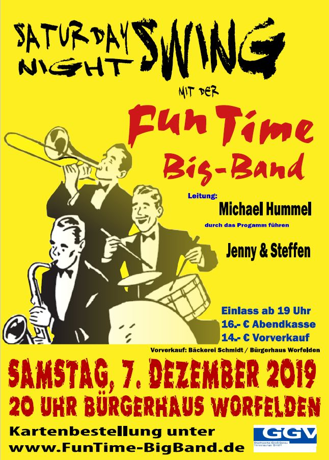 Saturday Night Swing am 7. Dezember 2019